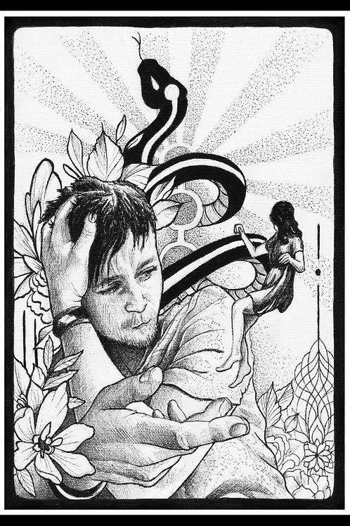 'Elevate' Original Drawing
