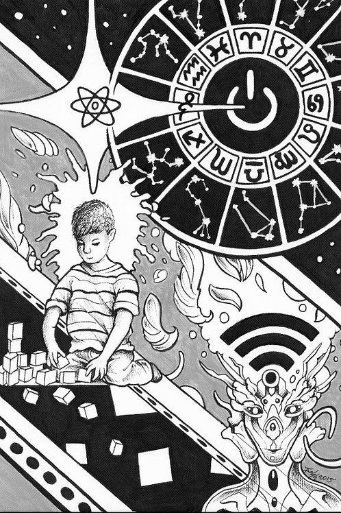 'Star-sign' Original Drawing