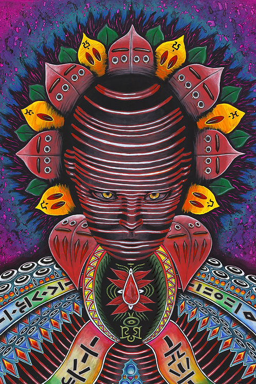 'Our Quantum Mind' Original Canvas