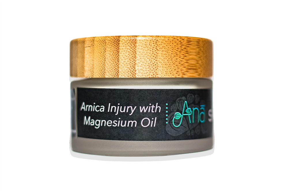 Arnica Injury Cream with Magnesium Oil 50g