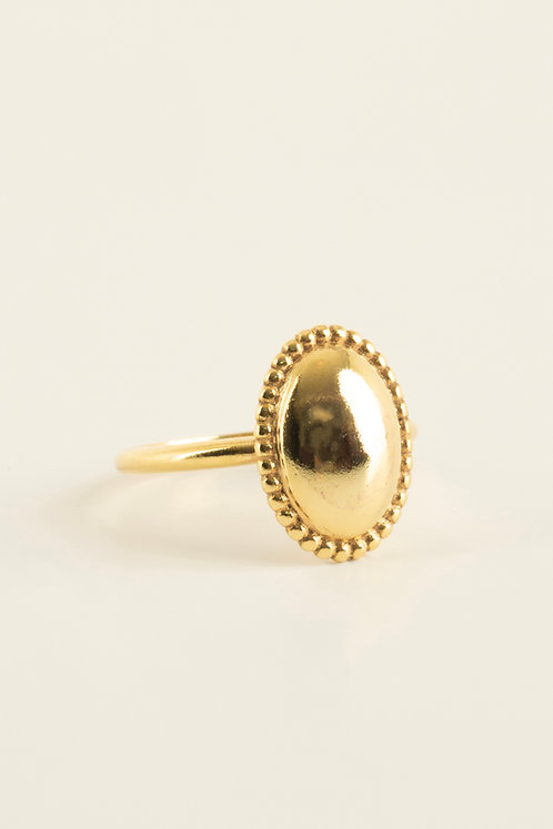 big ellipse ring