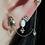 Thumbnail: triangle dots earring