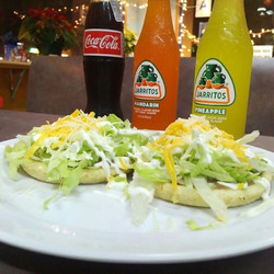 $1 Sopes at Alfredo's Mexican Food