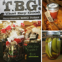 TBG BBQ Sauce, Gift Cards, and more