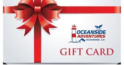 Oceanside Adventures Gift Card