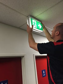 Emergency light testing, emergency light, exit sign, NFPA-101, fire marshal inspection