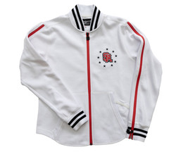 SPORTYGAL WHITE TRACK JACKET