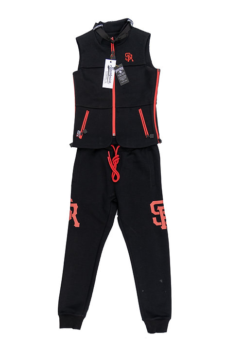 Youth Girl's Biker Vest & Pant
