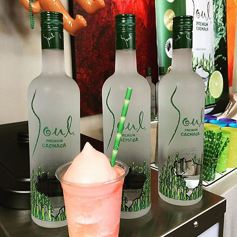 Frozen #soulcachaca #strawberry #caiprin