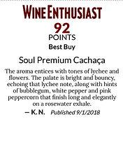 Soul Premium Cachaça - Shelf Talkers - 3