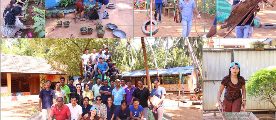 Hambantota Children's Home Clean-Up Activity