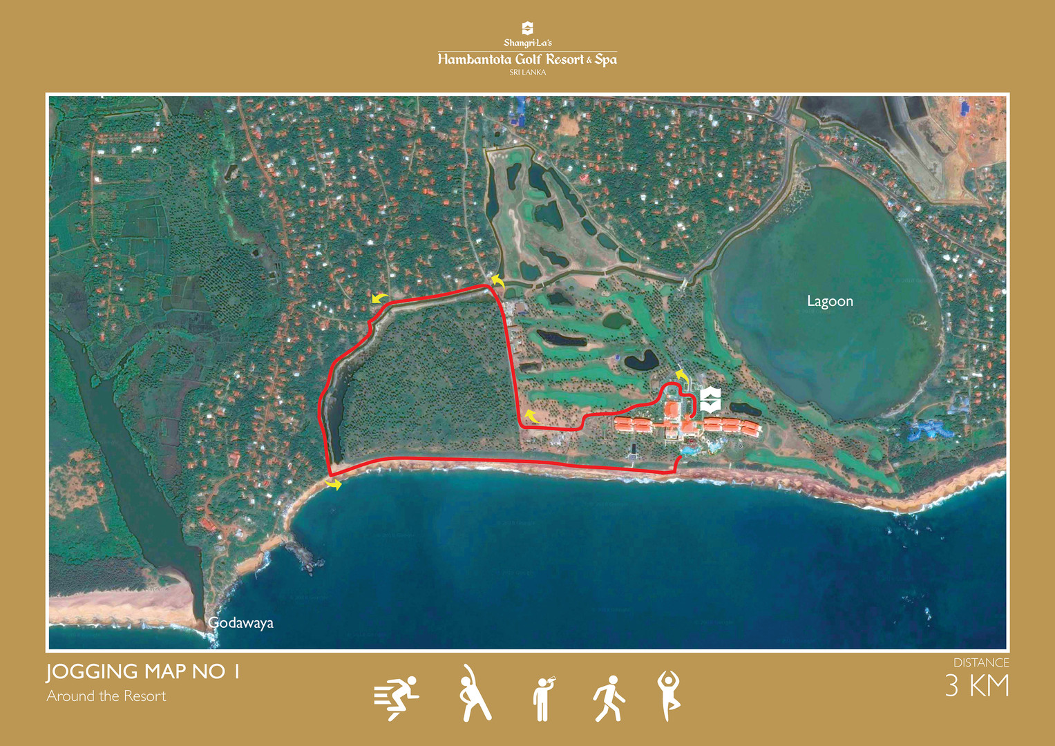 Jogging Route One