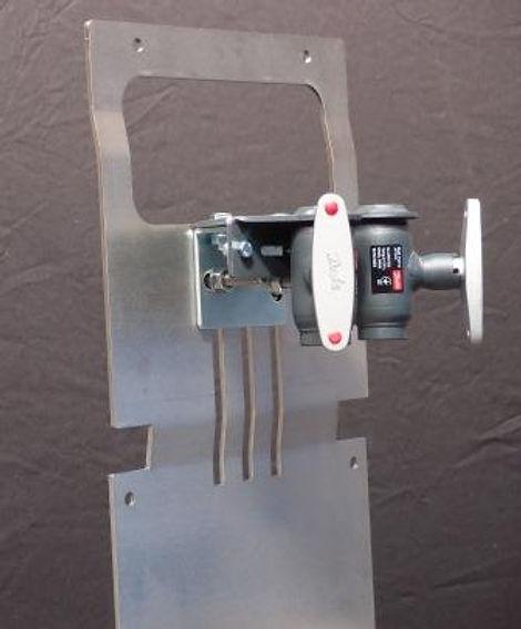 Fjernvarmeskab med Danfoss ventil med trinløs justering