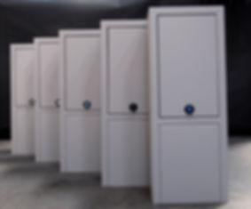 Fjernvarmeskab i nyt design med isolering og nem montage