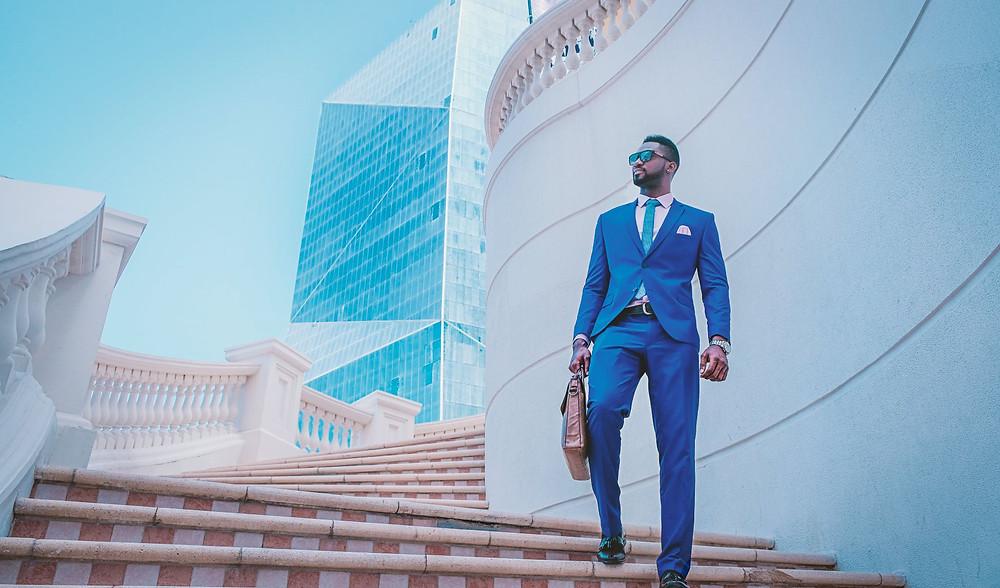 black businessman personal branding