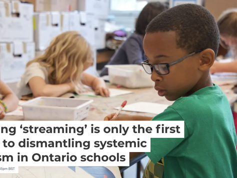 ONTARIO SAYS WHAT WE WANT TO HEAR - IT'S TAKING BOLD ACTION