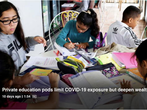 EDUCATION PODS ARE A REAL THING - BUT WHO REALLY BENEFITS?