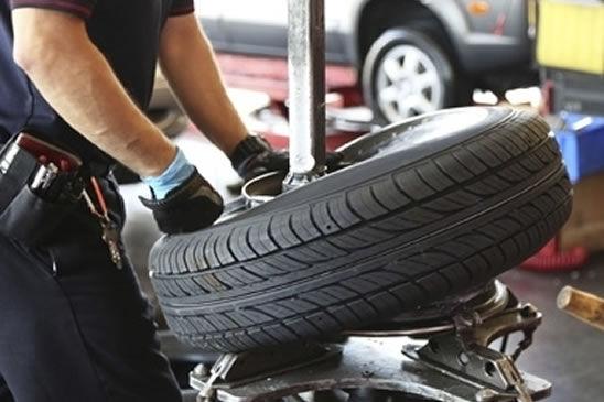 Sostituzione 4 pneumatici da montare