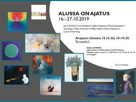 """""""Alussa on ajatus"""" Exhibition"""