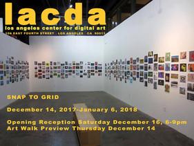 Exhibition LACDA, LA, USA