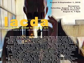 """Open Source"" International Exhibition LACDA, LA, USA"