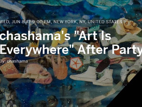 Chashama Gala 2016 after party, NY, USA