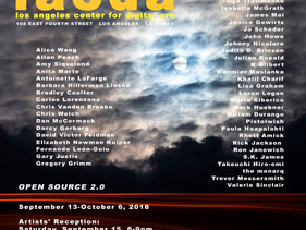 """Open Source 2"" International Exhibition LACDA, LA, USA"