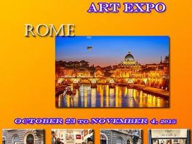 International Art Expo Rome 2015