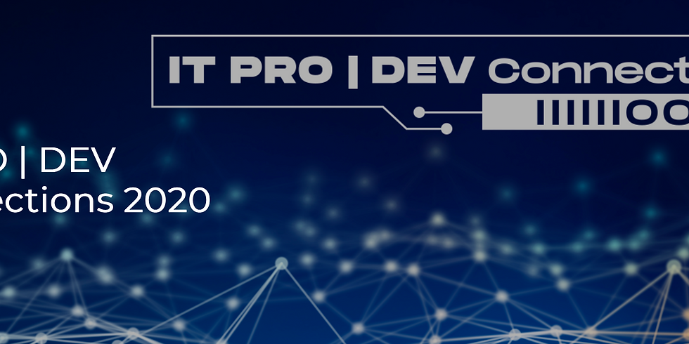 IT Pro Dev Connections conference - GDC will atttend!