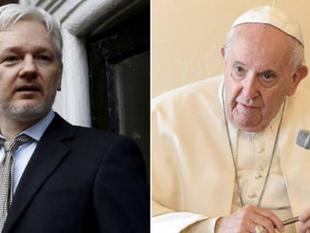 El papa Francisco envió una carta a Julian Assange con un 'mensaje personal'
