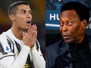 Pelé no admite ser superado por Cristiano Ronaldo y esta fue su reacción