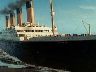 Construyen en China una réplica 'exacta' del Titanic para un futuro parque temático