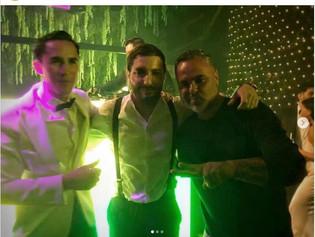 Los artistas que estuvieron en la boda de Borrero: Juan Magan, Dj Alesso y su hermosa novia