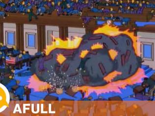'Los Simpson' también predijeron el asalto al Capitolio de Estados Unidos