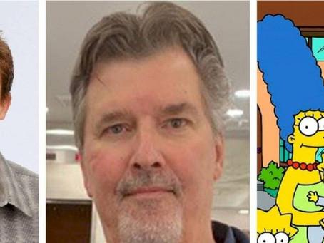 Malcolm y Los Simpson están de luto, falleció el escritor David Richardson