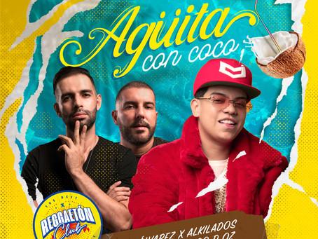 """AGÜITA DE COCO"" CON J ALVAREZ FT ALKILADOS"