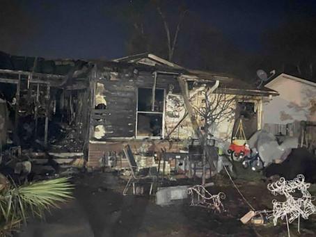 Una familia de Texas casi muere en un incendio tras perder el olfato por la COVID-19