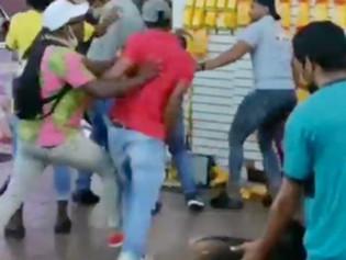 Video: pelea campal se registró en la Bahía de Guayaquil