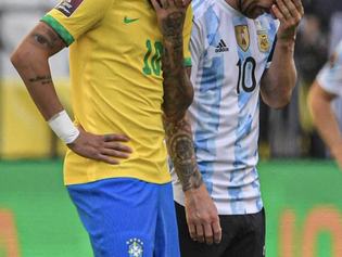 Brasil vs. Argentina: suspenden el partido de tras controversia por cuarentenas de jugadores