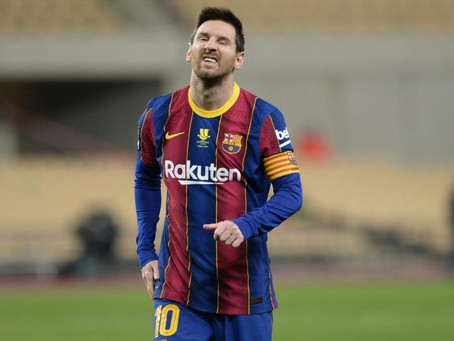 Messi recibió dos partidos de suspensión por su primera tarjeta roja con el FC Barcelona