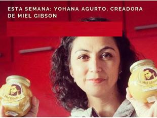 """Chilena en problemas por llamar a su empresa de miel """"Miel Gibson"""""""