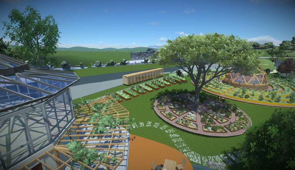 Permaturk Vakfı Bahçeleri