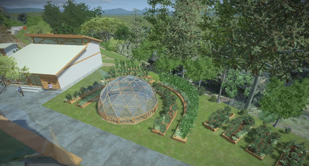Aktivite Merkezi & Topluluk Bahçesi