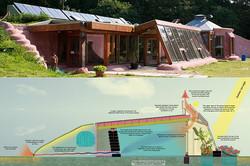 Earthship tasarımı