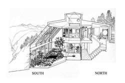 Eğimli arazide sera ile tasarım
