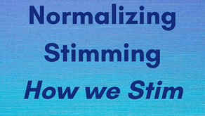 Normalizing Stimming in the Workplace