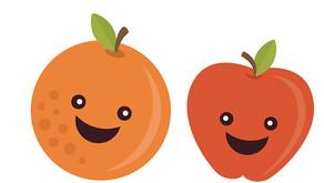 Being an Apple in an Orange World