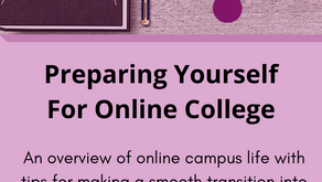 Preparing Yourself For Online College