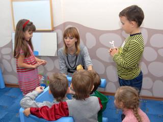 Раннее обучение детей английскому языку