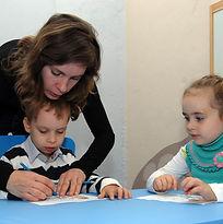Занятия с детьми от 4 лет
